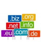 Dominio internet, .com .es y otras extensiones